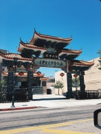 Chinatown, Los Angeles, Temple.